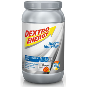 Dextro Energy Carbo Mineral Drink Tub 1120g, Red Orange